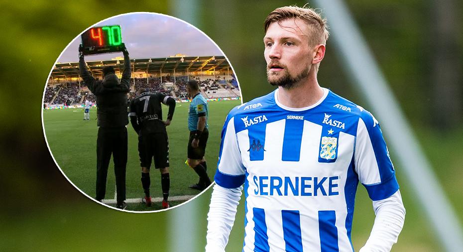 TV: Här gör Sebastian Eriksson allsvensk comeback för Blåvitt
