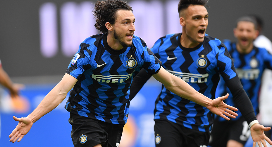 TV: Inter avgjorde sent - ångar på i toppen