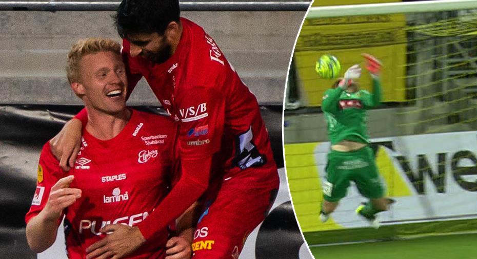 TV: Nyförvärv gav Elfsborg seger - Abrahamsson stod för jättetavla