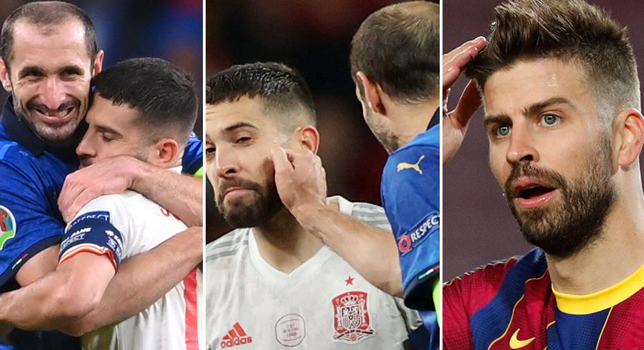 """Piqué rasar efter Spaniens förlust: """"Inte rättvist"""""""