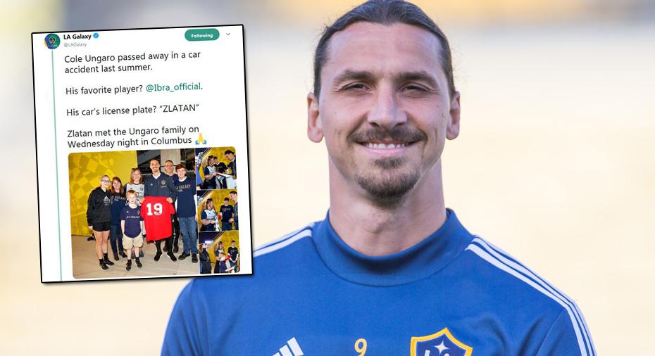 """Zlatan hyllas - träffade familjen efter tragiska olyckan: """"Han var otrolig"""""""