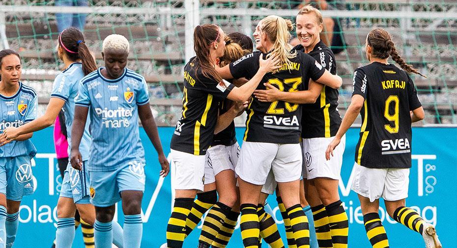 TV: AIK vinnare i Stockholmsderbyt mot Djurgården - Hallin matchhjälte på Skytteholm