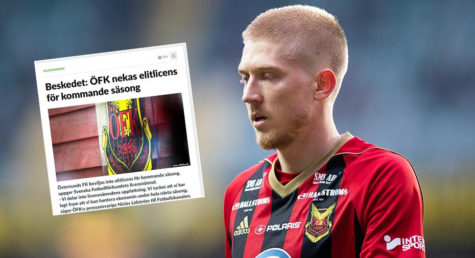 """Kroon hymlar inte att ÖFK-turbulensen påverkat laget: """"Har legat i bakhuvudet hela tiden"""""""