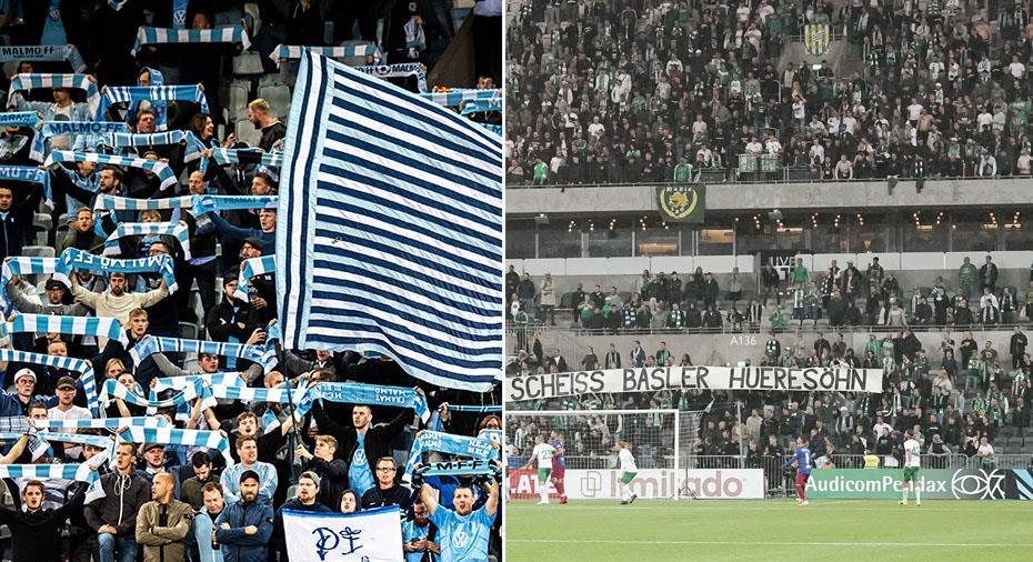 Uefa straffar Malmö och Hammarby