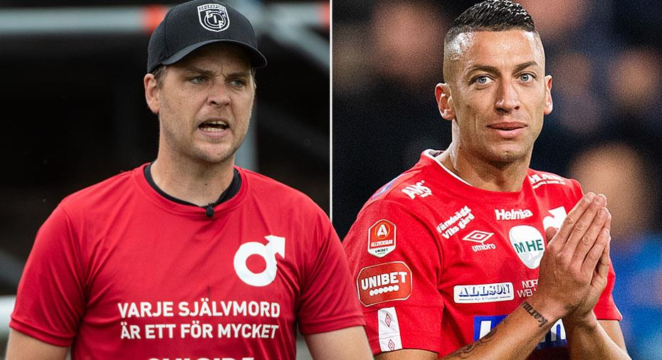 """Degerfors-tränaren om Djurdjic: """"Viktigt för hans självförtroende"""""""