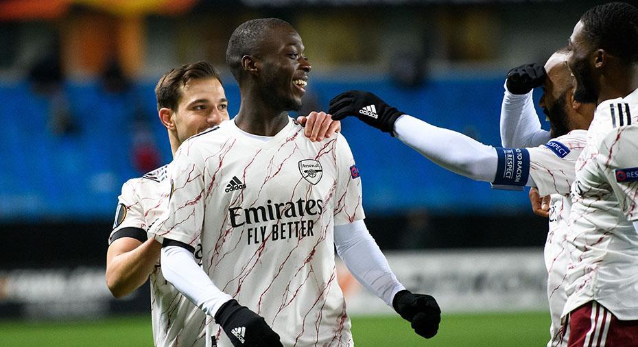 Arsenal vidare till slutspel i EL - besegrade svensklaget enkelt