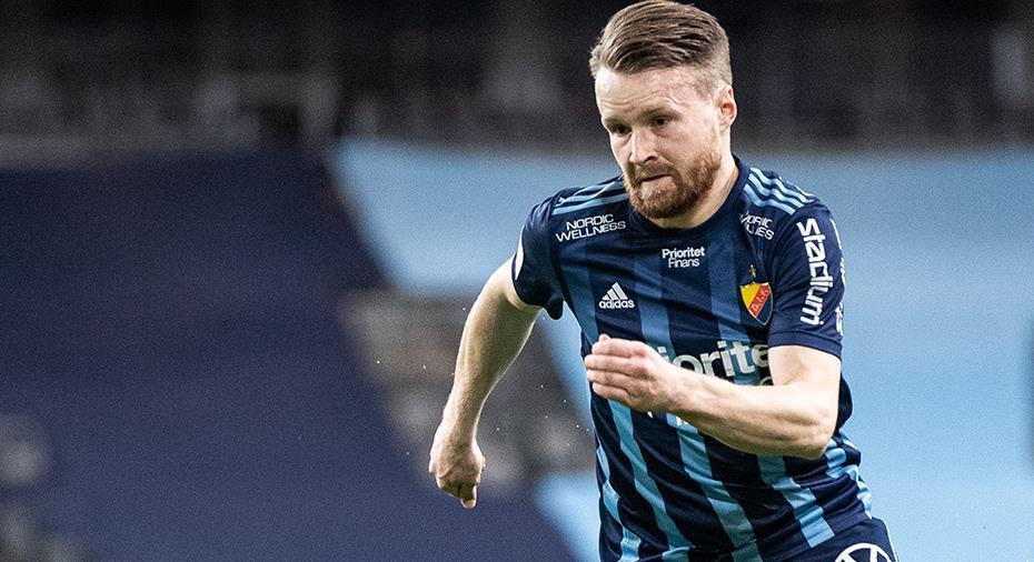 """Officiellt: Försvararen förlänger med Djurgården: """"Fått uppleva fantastiska saker"""""""