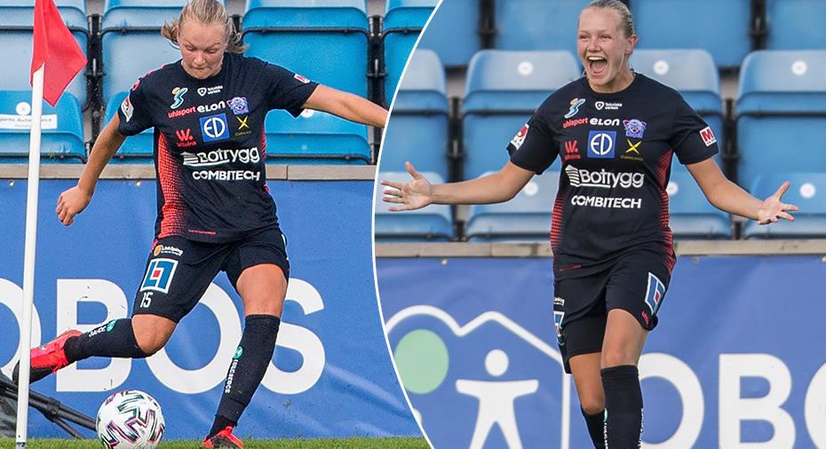 """Linköping-stjärnan: """"Måste vara första gången jag gör ett sådant mål"""""""