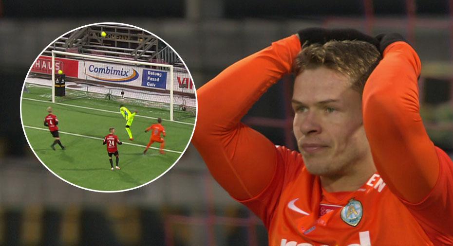 TV: JUST NU: Ajeti rinner igenom - nära att skjuta AFC till ledning
