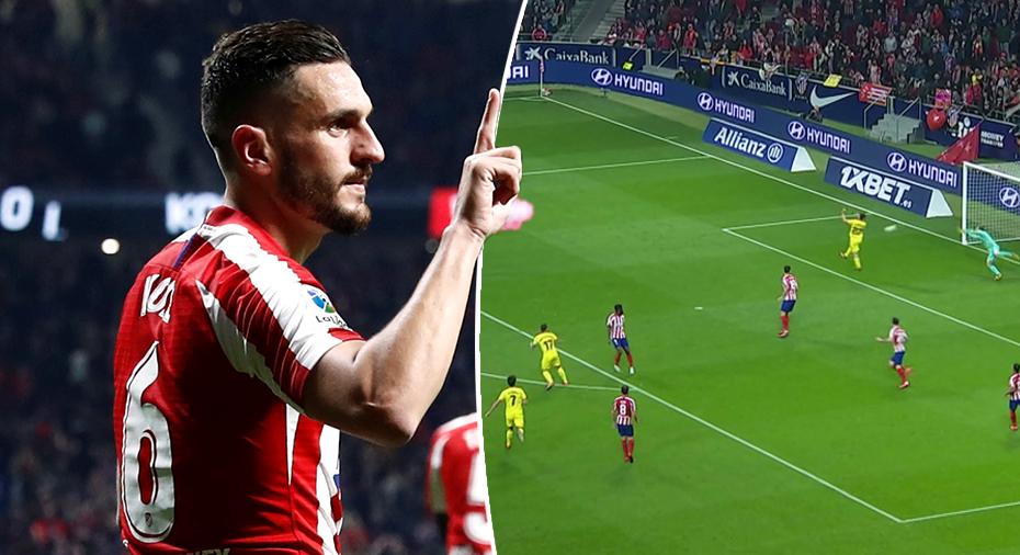 TV: Alcacers klassmål räckte inte till seger - Atlético vände och vann