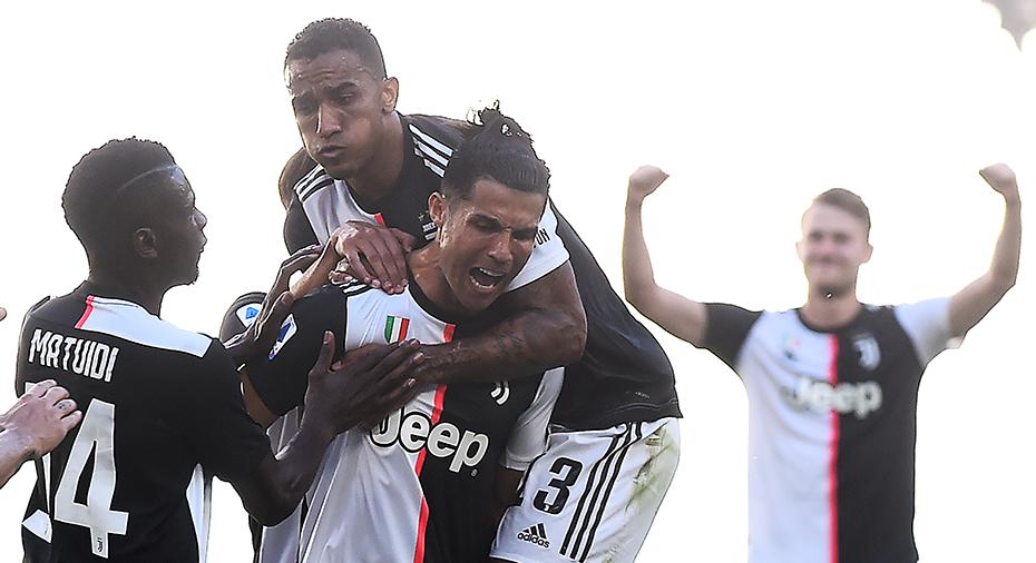 TV: JUST NU: Ronaldo gör 3-1 med läckert frisparksmål