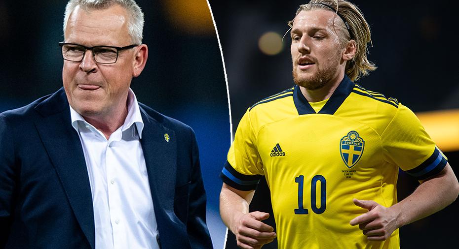 Efter missen - Seb Larsson får inte slå straff i EM