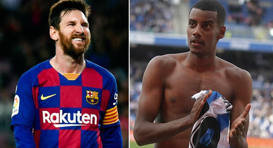"""Messi slog Isak - utsedd till """"Månadens spelare"""""""
