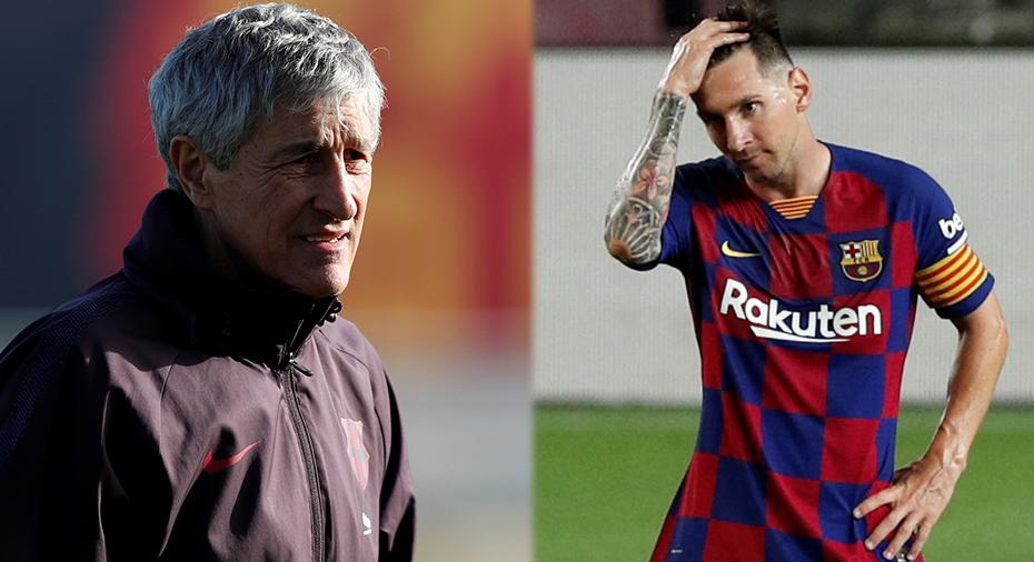 Setíen sägs få lämna och Messi uppges vilja lämna – nu svarar presidenten på uppgifterna