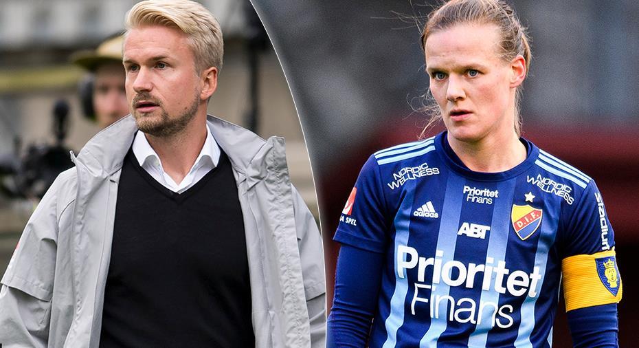 """Sägs skurit sig mellan tränaren och spelare - Djurgårdens kapten: """"Det ska vara tufft"""""""