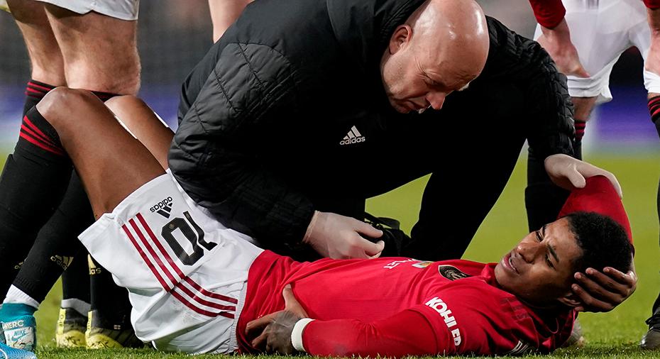 Tung smäll för United: Rashford kan missa resten av säsongen