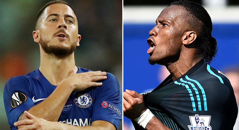 """Drogba lockade Hazard till Chelsea. """"Han sa: Du ska komma hit"""""""