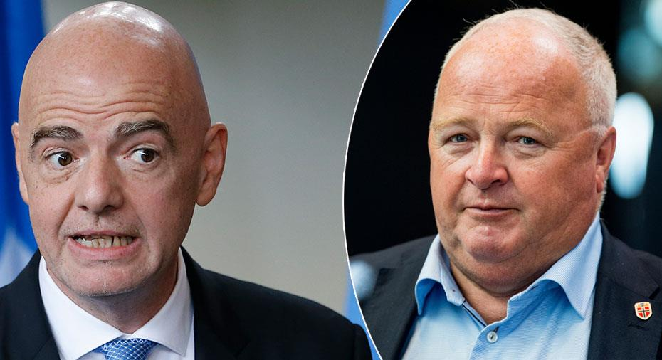 Norska förbundets förslag till Fifa: Stoppa alla övergångar