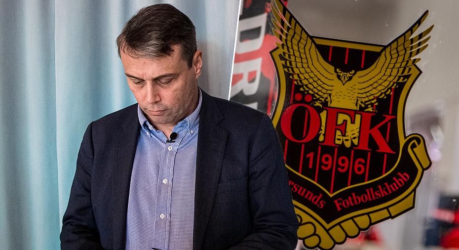 """ÖFK-topp viftar bort Kindberg - och svarar om hemliga sponsorn: """"Ingen bluff"""""""