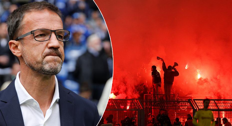 Sportchefens meddelande till fansen: Kom inte hit – då förlorar vi