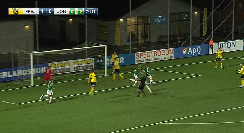 TV: Olsson poängräddare för J-Södra i bottenmötet - men kvar på kvalplats