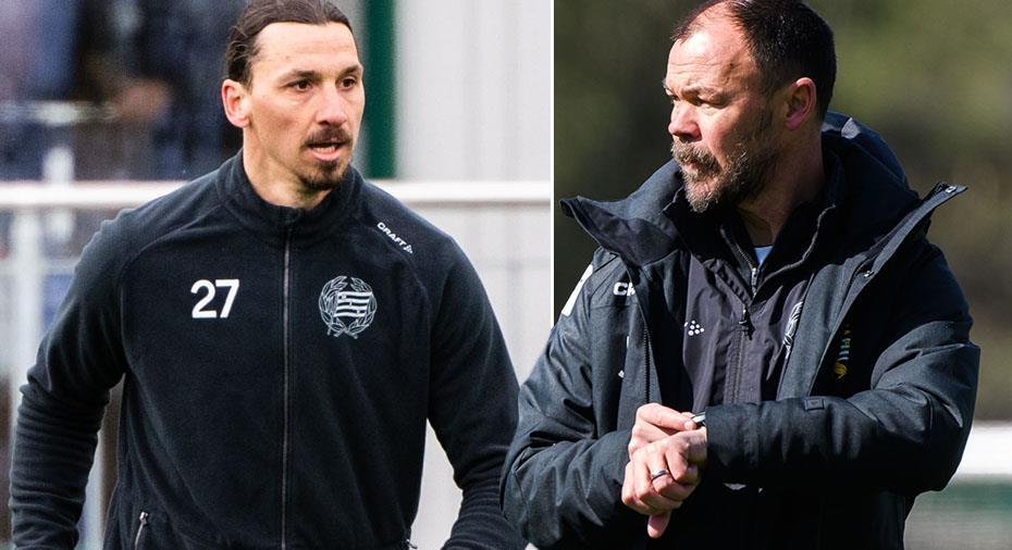 """Bajen-tränaren: """"Än så länge förbereder vi oss för en säsong utan Zlatan"""""""
