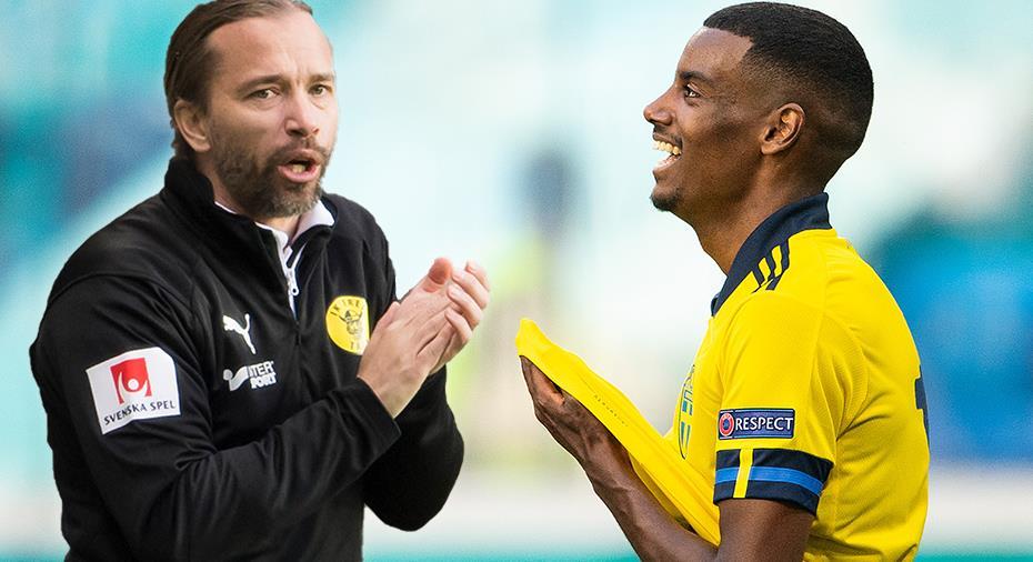 """Isaks forne polsk-svenske tränare: """"De porträtterar honom som Zlatans arvtagare"""""""