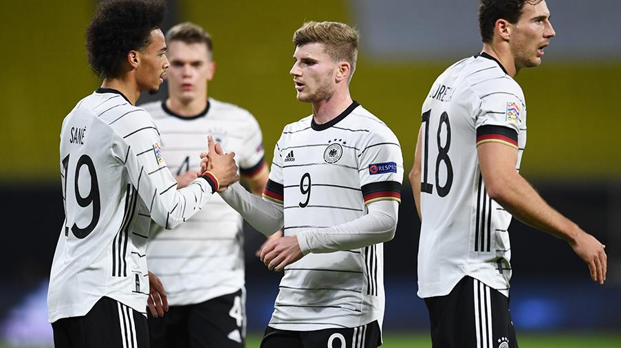 TV: Werner tvåmålsskytt när Tyskland besegrade Ukraina - avgörande gruppfinal mot Spanien väntar