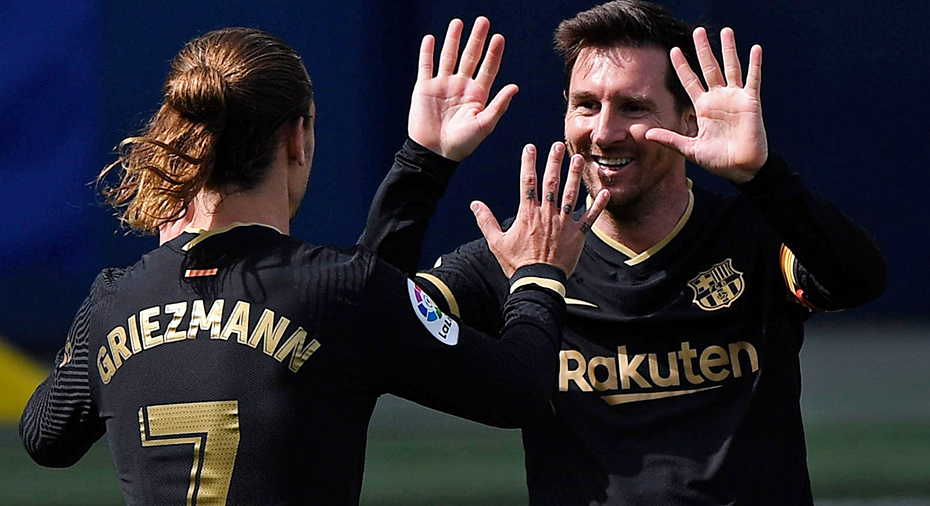 TV: Griezmann stor hjälte för Barça i titelstriden