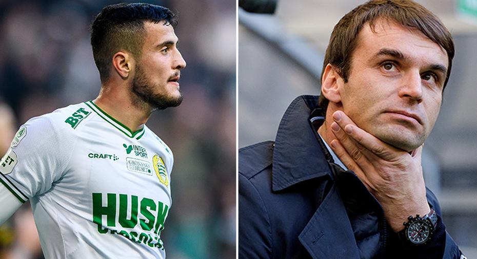 """Besviken Selmani skickar passning till sin tränare: """"Får väl se hur det blir i nästa match"""""""