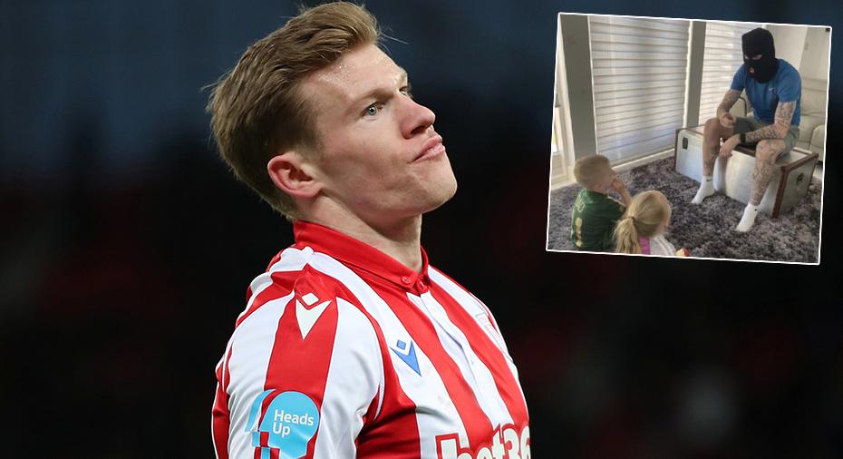 """Stoke straffar McClean efter inlägget – bar balaklava och """"höll historielektion"""" för barnen"""