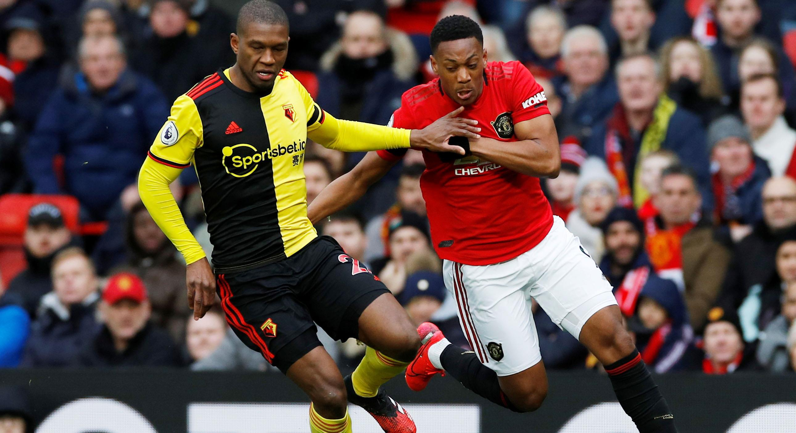 JUST NU: Watfords Deeney med superläge tidigt mot United