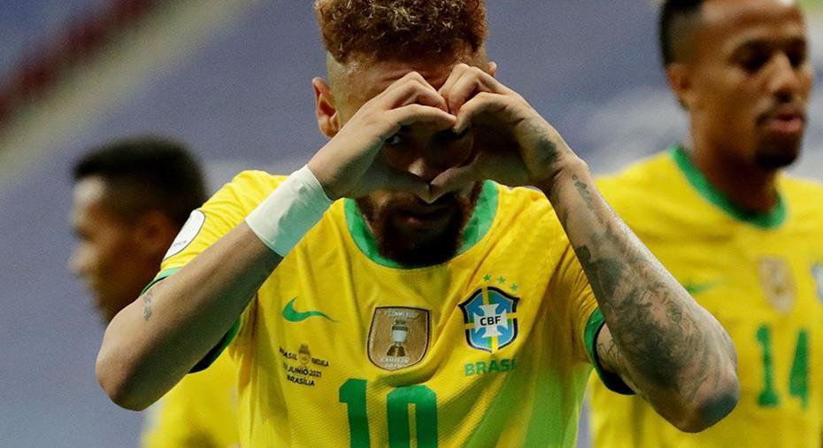 Smakstart för Brasilien i premiären av Copa America