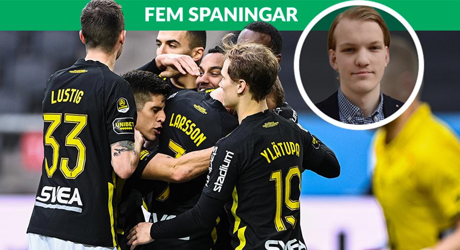 """FEM SPANINGAR: """"Stabila och tunga AIK är tillbaka på allvar"""""""