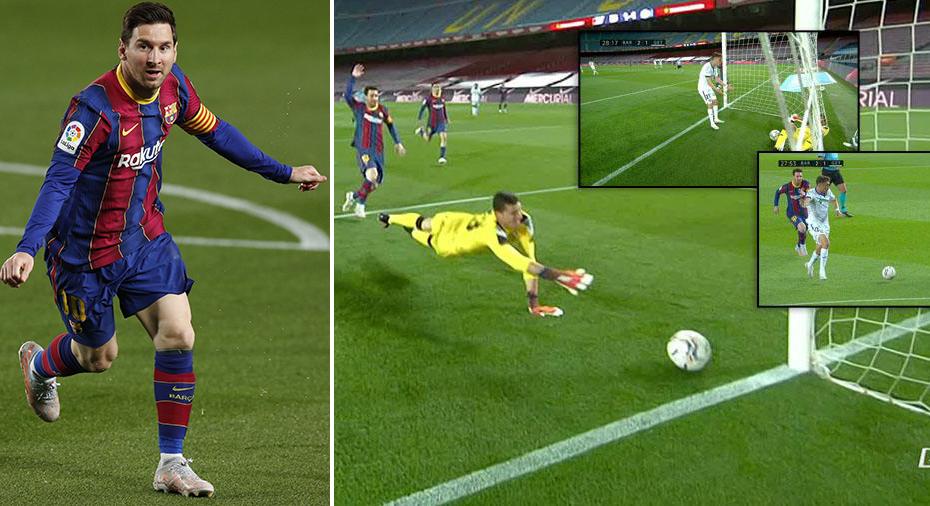 TV: Dubbla Messi-mål och sanslöst självmål i Barça-seger