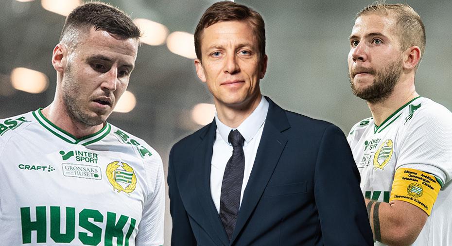 """Edman om Hammarbys kaptensbyte: """"Skulle kunna ruska om spelargruppen"""""""