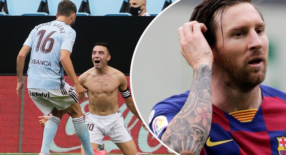 TV: Barcelona tappade viktiga poäng - efter Aspas frisparksmål i slutminuten