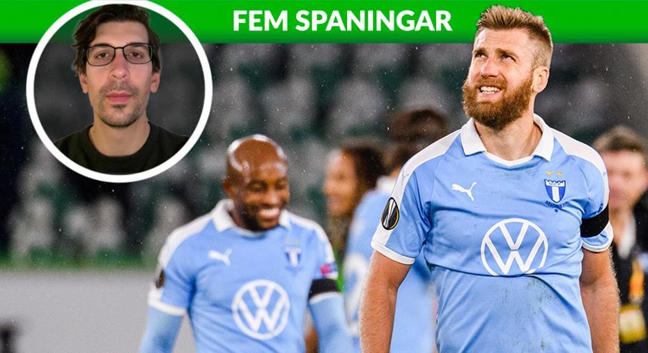 """FEM SPANINGAR: """"MFF:s matchovana orsak till förlusten"""""""