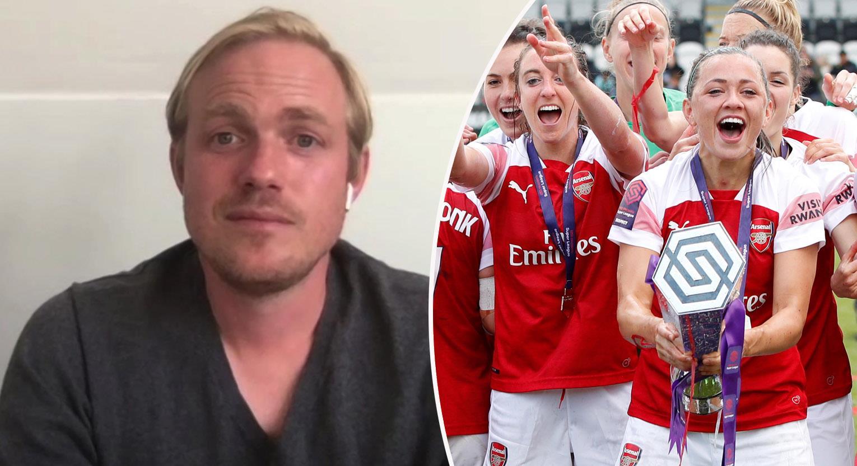 """Eidevall om Arsenal-jobbet: """"Stolt - vi ska vinna ligan"""""""
