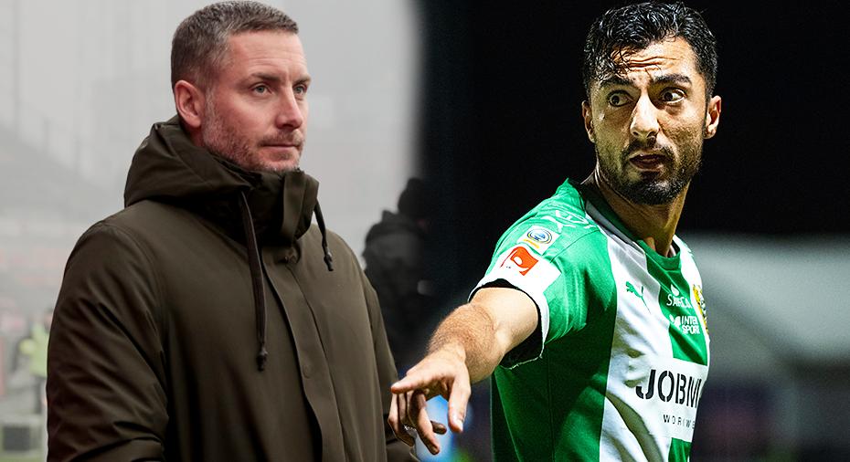 """Örebro-tränaren: """"Övertygad om att Hamad kommer att spela i ÖSK"""""""