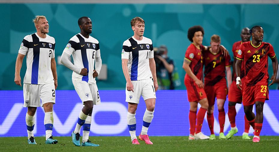TV: JUST NU: Vermaelen sätter 1-0 för Belgien