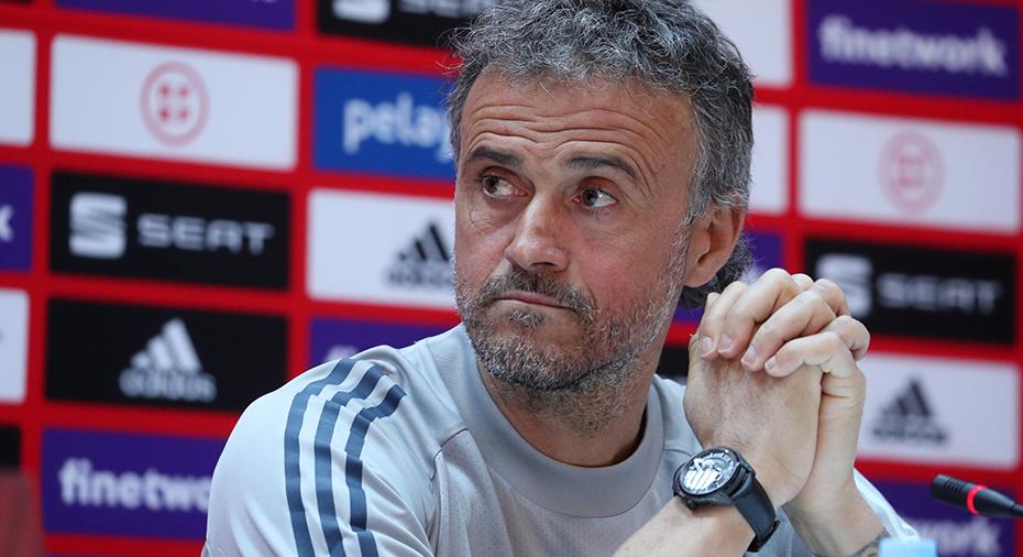 """Spanien-tränarens starka svar: """"Det här är en barnlek"""""""