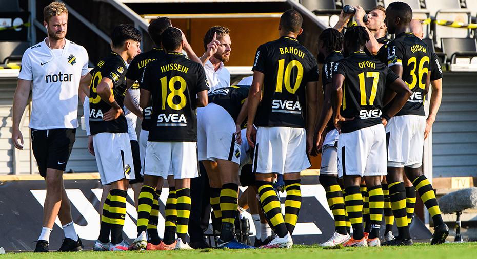 """AIK-ledningen erkänner i öppet brev: """"Platsen i allsvenskan i fara"""""""