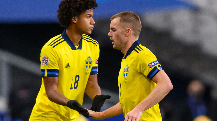 Cajuste inbytt mot Frankrike - nu låst till det svenska landslaget