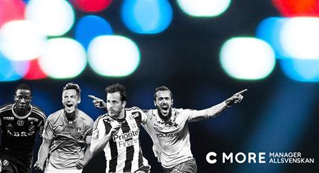 C More Manager Allsvenskan är ett samarbete mellan Fotbollskanalen 933bb5faca1fe