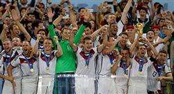 Tyskland firar VM-guldet.